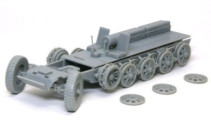 Sd.kfz.251/7C型 シャーシの組み立て