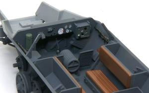 装甲工兵車Sd.kfz.251/7C型 インテリアの塗装