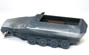 装甲工兵車Sd.kfz.251/7C型 車体の合わせ目消し