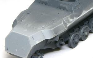 装甲工兵車Sd.kfz.251/7C型 溶接痕の再現