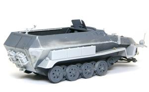 装甲工兵車Sd.kfz.251/7C型 細かなパーツの取り付け