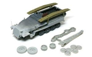 装甲工兵車Sd.kfz.251/7C型 組み立て完了