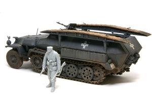 装甲工兵車Sd.kfz.251/7C型 車輌は完成