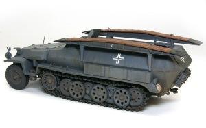 装甲工兵車Sd.kfz.251/7C型 ウオッシング
