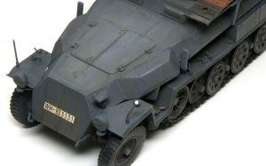 装甲工兵車Sd.kfz.251/7C型 ドライブラシ