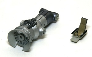シーハリアーFSR.1 エンジンと座席の塗装