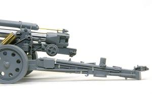 15cm重野戦榴弾砲sFH18 砲架