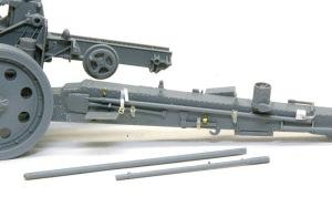 15cm重野戦榴弾砲sFH18 戦闘中を再現