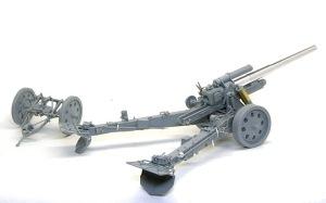 15cm重野戦榴弾砲sFH18 組み立て完了