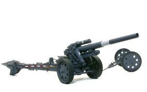 15cm重野戦榴弾砲sFH18 細部の塗分け