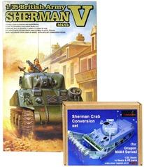 タスカのシャーマン5とレジェンドのコンバージョンセット