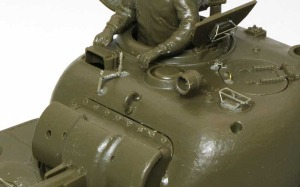 M4A3シャーマン(RC) 砲塔のディテールアップ