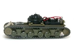 M4A3シャーマン ベルト式履帯ではサスペンションが・・・