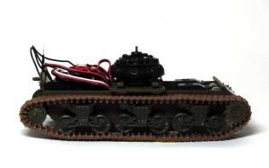 M4A3シャーマン(RC) カステン履帯の組立て