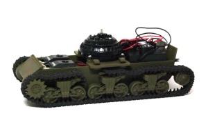 M4A3シャーマン(RC) シャーシの塗装