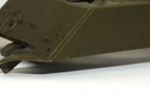 M4A3シャーマン(RC) 溶接痕の追加