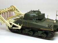 組立て完了 対地雷戦車シャーマンクラブ
