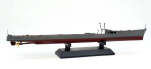 駆逐艦島風 最終時 艦底の接着