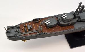 駆逐艦島風 最終時 艦尾の艤装