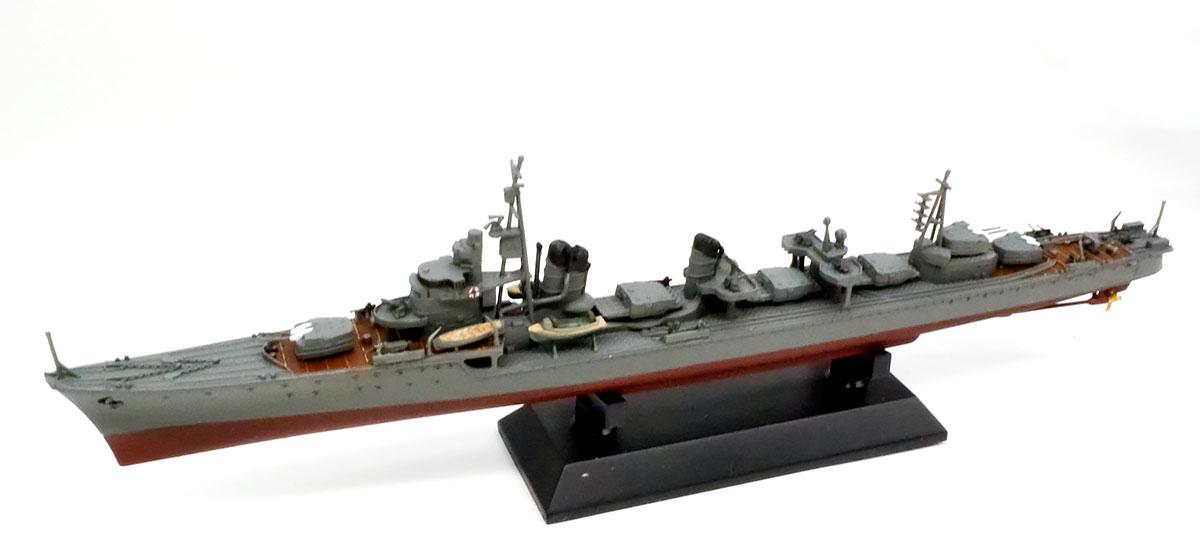 駆逐艦島風 最終時 組立て完了