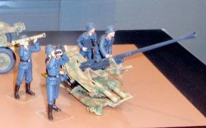 ドイツ・3.7cm対空砲Flak43 1/35 タミヤ