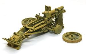 15cm重歩兵砲sIG33 基本塗装