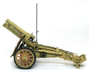 15cm重歩兵砲sIG33 細部の塗分け
