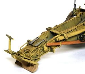15cm重歩兵砲sIG33 ウオッシングと泥汚れ