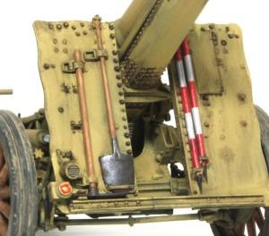 15cm重歩兵砲sIG33 OVMの仕上げ
