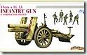 ドイツ・15cm重歩兵砲s.IG.33 1/35 サイバーホビー