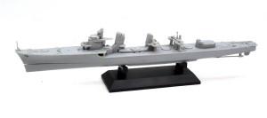 駆逐艦島風 最終時 船体と大きな構築物の組立て