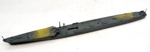 駆逐艦島風 最終時 船体の塗装