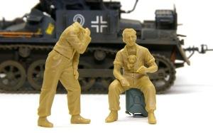 ドイツ戦車兵・スカートプレイヤー 組み立て