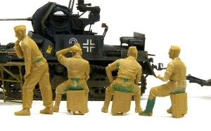 ドイツ戦車兵・スカートプレイヤー 整形
