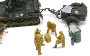 ドイツ戦車兵・スカートプレイヤー 小物の追加