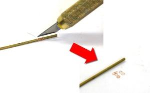 ベルトの金具の自作