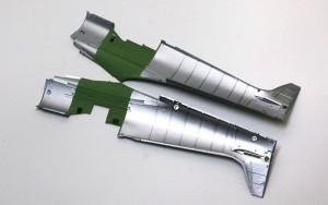 スピットファイアMk.9c 機体内部の塗装