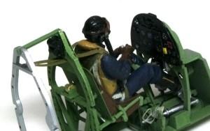 スピットファイアMk.9c シートベルト