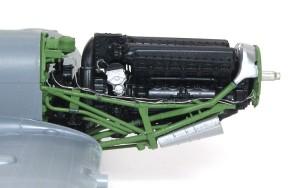スピットファイアMk.9c エンジンのパイピング