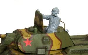 ソビエト歩兵・戦車搭乗セット 戦車兵