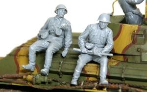 ソビエト歩兵・戦車搭乗セット 歩兵たち