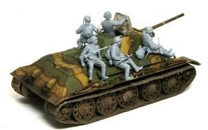 ソビエト歩兵・戦車搭乗セット 全員集合