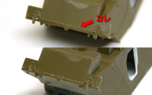 スタッグハウンドMk.1 溶接痕の付け直し