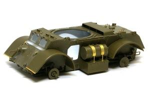 スタッグハウンドMk.1 車体細部の組み立て