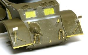 スタッグハウンドMk.1 バックミラーのステー