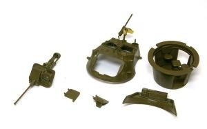 スタッグハウンドMk.1 砲塔の組み立て