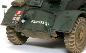 スタッグハウンドMk.1 ヘッドライトとバックミラー