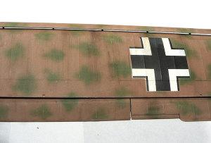 フィーゼラーFi156Cシュトルヒ 主翼のアップ写真