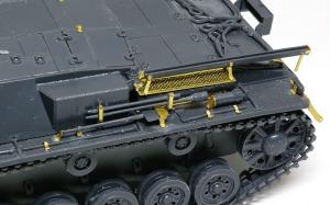 3号突撃砲B型 Haulerのエッチングパーツ