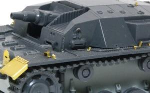 3号突撃砲B型 ヒートペンで溶接痕を追加